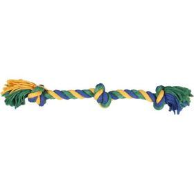 """Игрушка для собак """"Веревка 3 узла"""" 50 см, текстиль"""