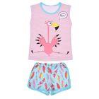 """Пижама для девочки """"Пеликашка"""", рост 98-104 (28) см, цвет розовый"""