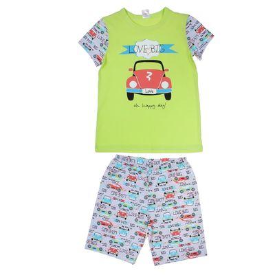 """Пижама для мальчика """"Ретро BIG"""", рост 134-140 (34) см, цвет лимонный пунш Р208580"""