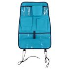 Органайзер на спинку сиденья автомобиля, 7 карманов, 55х37 см, цвет голубой