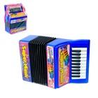 Музыкальная игрушка «Аккордеон», 10 мелодий, МИКС - фото 105637438