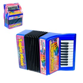 Музыкальная игрушка «Аккордеон», 10 мелодий, МИКС