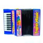 Музыкальная игрушка «Аккордеон», 10 мелодий, МИКС - фото 105637439