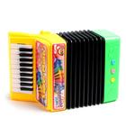 Музыкальная игрушка «Аккордеон», 10 мелодий, МИКС - фото 105637448