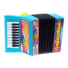 Музыкальная игрушка «Аккордеон», 10 мелодий, МИКС - фото 105637445