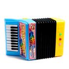Музыкальная игрушка «Аккордеон», 10 мелодий, МИКС - фото 105637447