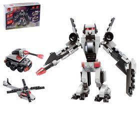 Конструктор-робот «Разведчик», 152 детали, 3 варианта сборки