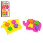 Развивающая игрушка-сортер «Формы», 2 штуки, МИКС