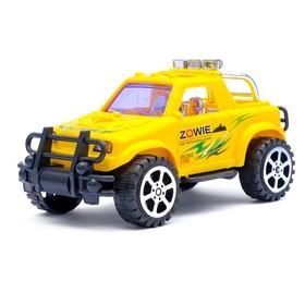 Машина инерционная «Джип триал», цвета МИКС