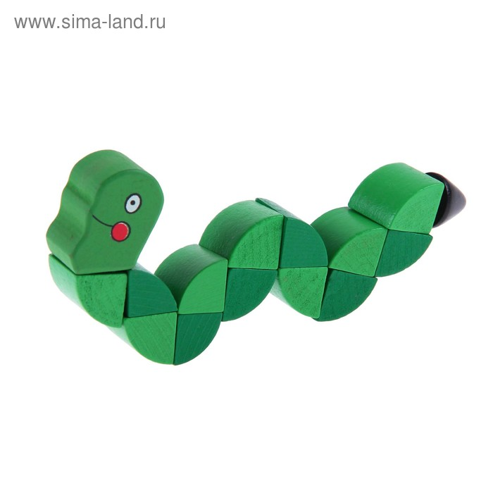 """Головоломка - змейка """" Гусеничка"""""""