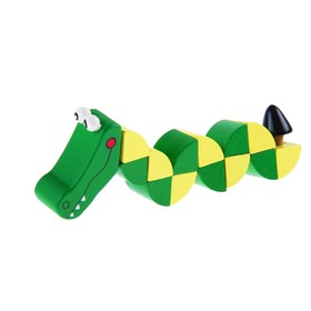 Puzzle snake Crocodile