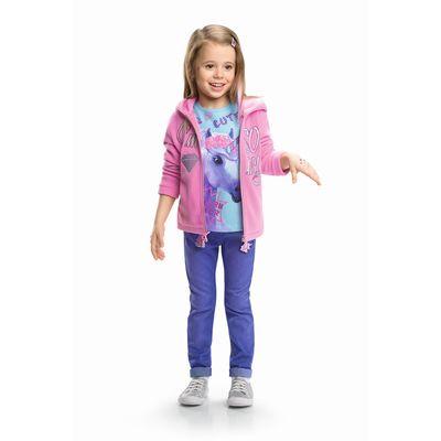 Куртка для девочек, рост 92 см, цвет розовый