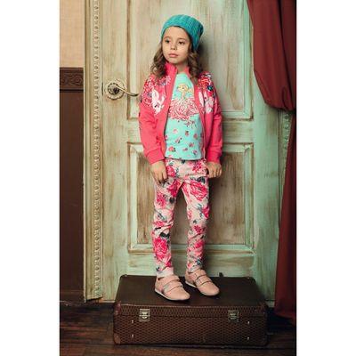 Куртка для девочек, рост 86 см, цвет розовый