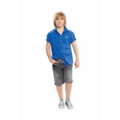 Шорты для мальчика, рост 128 см, цвет серый