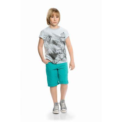 Шорты для мальчика, рост 128 см, цвет изумрудный