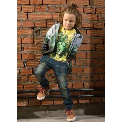 Джинсы для мальчика, рост 104-110 см, цвет охра