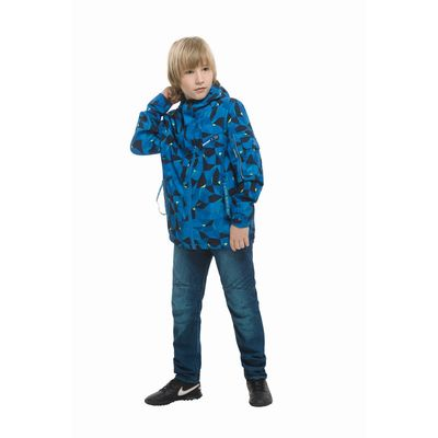 Джинсы для мальчика, рост 152-158 см, цвет синий