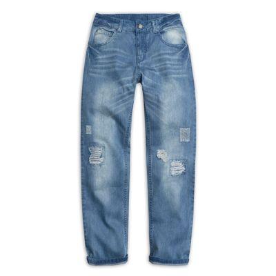 Джинсы для мальчика, рост 158-164 см, цвет голубой