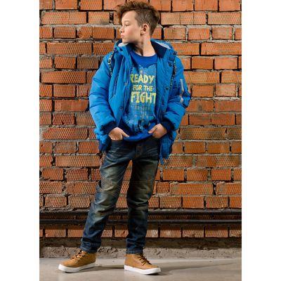 Джинсы для мальчика, рост 164 см, цвет охра
