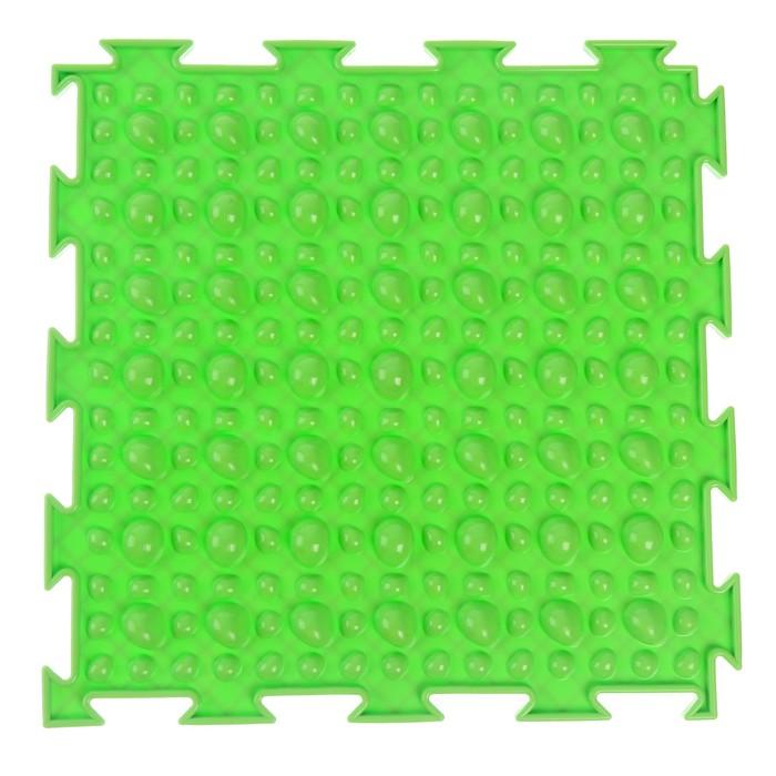 Массажный коврик 1 модуль «Орто. Камешки», цвета МИКС - фото 105575025