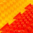 Массажный коврик 1 модуль «Орто. Волна», цвета МИКС - фото 105575044