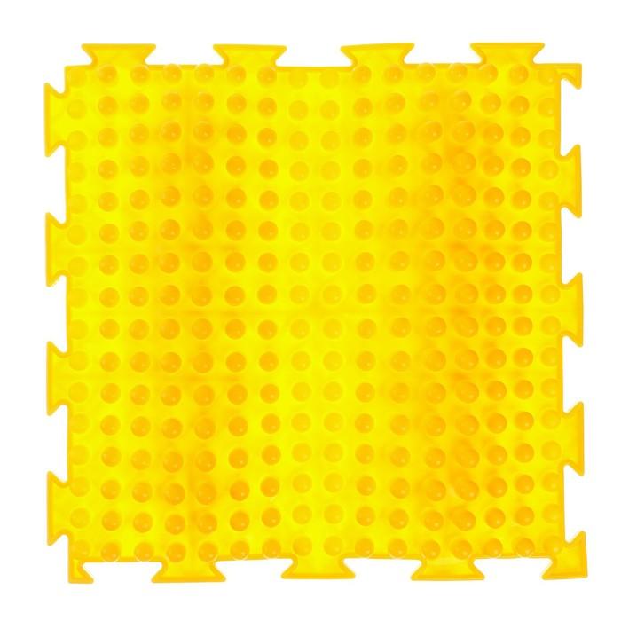 Массажный коврик 1 модуль «Орто. Волна», цвета МИКС
