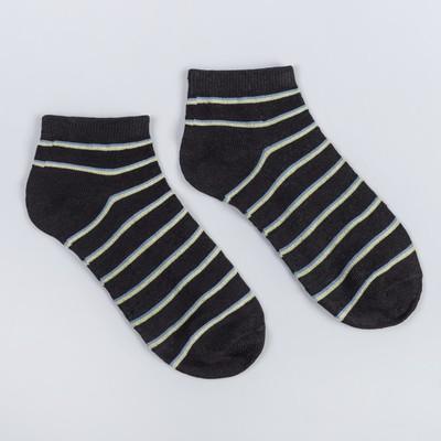 Носки женские, размер 23-25, цвет чёрный