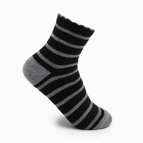 Носки женские, размер 23-25, цвет светло-серый Ош