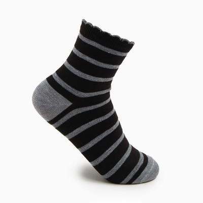 Носки женские, размер 23-25, цвет светло-серый