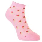 Носки женские , размер 23-25, цвет розовый
