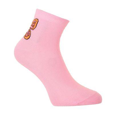 Носки женские, размер 23-25, цвет розовый