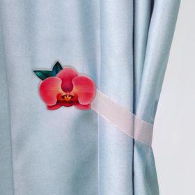 Подхват для штор «Орхидея»
