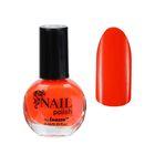 Лак для ногтей неоновый, 9мл, цвет 027-091 оранжевый