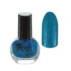 Лак для ногтей с блёстками, 9мл, цвет 089-233 синий