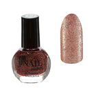Лак для ногтей с блёстками, 9мл, цвет 11-285 коричневый перламутровый