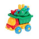 Машина «Пчёлка» №4: машина, заяц, собака, слон, МИКС