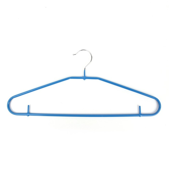 Вешалка антискользящая, размер 44-46, цвет синий