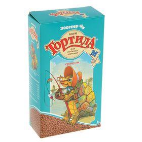 """Корм """"Тортила М Гранулы"""" для водяных черепах, гранулированный, 90 г."""