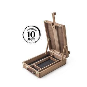 Этюдный ящик 380х270 мм, цвет под бук, Малевичъ МЛ-34 131034
