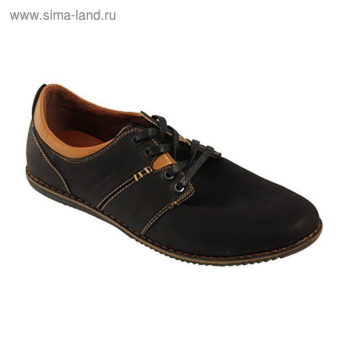Туфли мужские арт. A199-1 (черный) (р. 43)