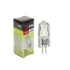 Лампа галогенная ЭРА, G4, 40 Вт, 230 В, прозрачная
