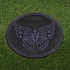 Плитка садовая, 30 × 30 см, пластик, набор 11 шт., терракотовая