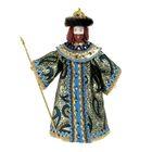 """Сувенирная кукла """"Царь в золотом"""" высота 27 см"""
