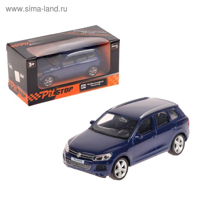 Машина металлическа Volkswagen Touareg, масштаб 1:43