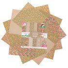 Набор бумаги для скрапбукинга «Добрая сказка», 12 листов, 30,5 х 30,5 см, 180 г/м