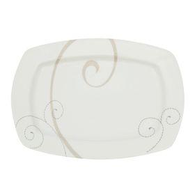 Тарелка прямоугольная 26 см Caress Modern