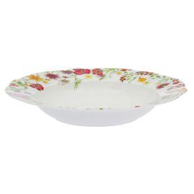Тарелка суповая 24 см Meadow