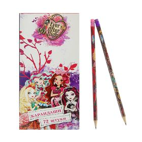 Карандаш чернографитный Ever After High, с ластиком