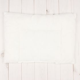 """Подушка """"Эдельвейс"""", размер 40х60 см, цвет белый 18016"""