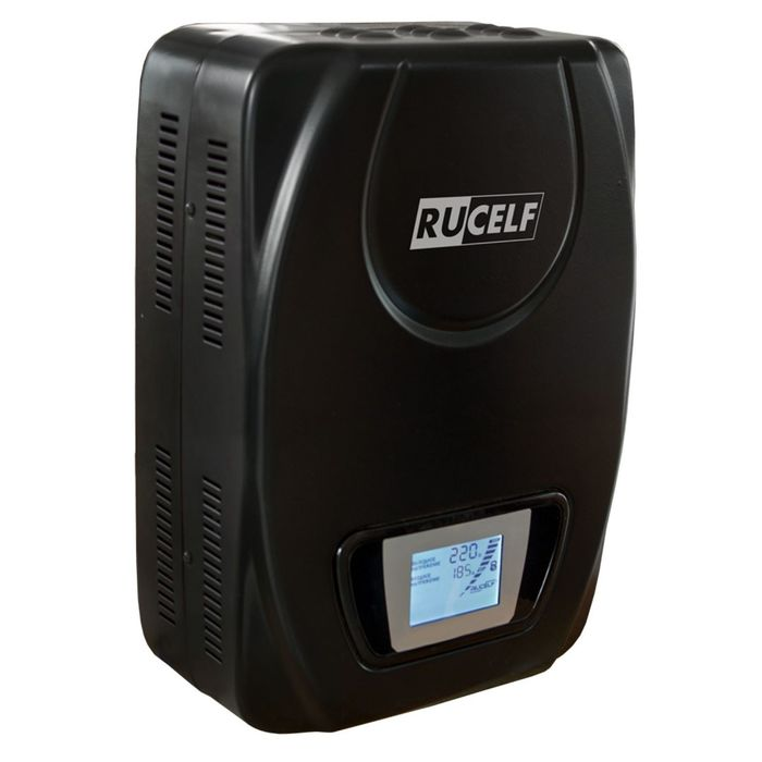 Стабилизатор напряжения RUCELF SDW.II-9000-L, электромех., настенный, точн. ±3.5%, 9000 ВА